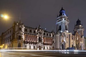 Lima, Peru city centre -Peru's economic growth