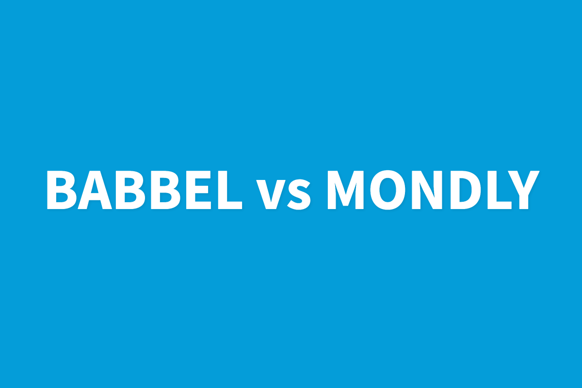 Babbel Vs Mondly Language App Review