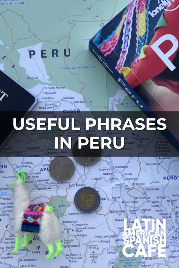 Useful Phrases In Peru